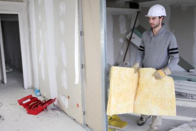קיר גבס - בנייה נקייה וחסכונית