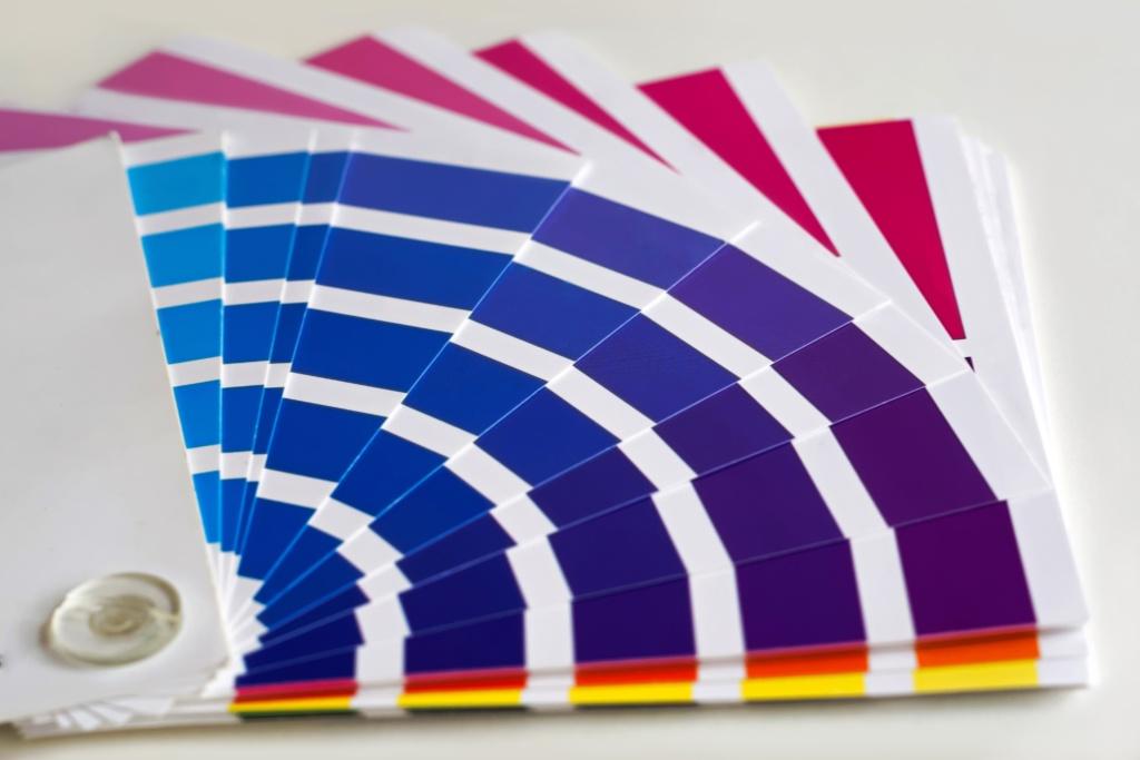 בחירת צבעים - אומנות הצבע והגבס