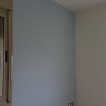 צביעת דירה - צביעת קירות בצבעים שונים
