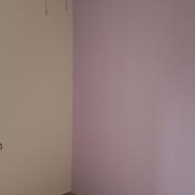 צביעת חדר בשני צבעים - אומנות הצבע והגבס