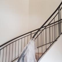צביעת מדרגות - אומנות הצבע והגבס
