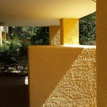 צביעת קירות חיצוניים - חידוש צבע