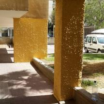צביעת קיר חיצוני - אומנות הצבע והגבס