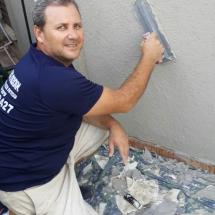עבודות צבע - צביעת קיר חיצוני